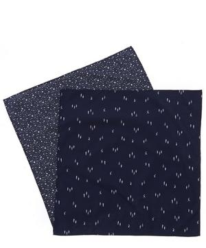 Star and Alpine Hanky Set