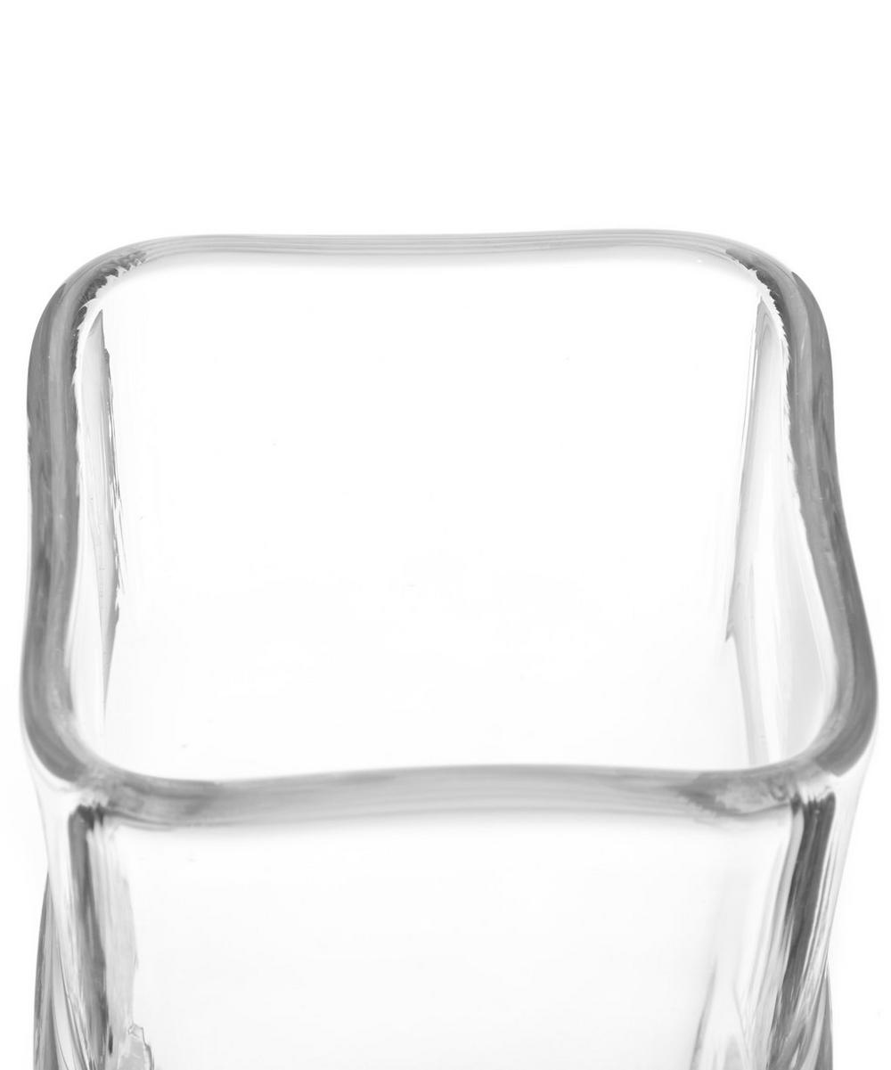 Extra Large Clear Square Vase