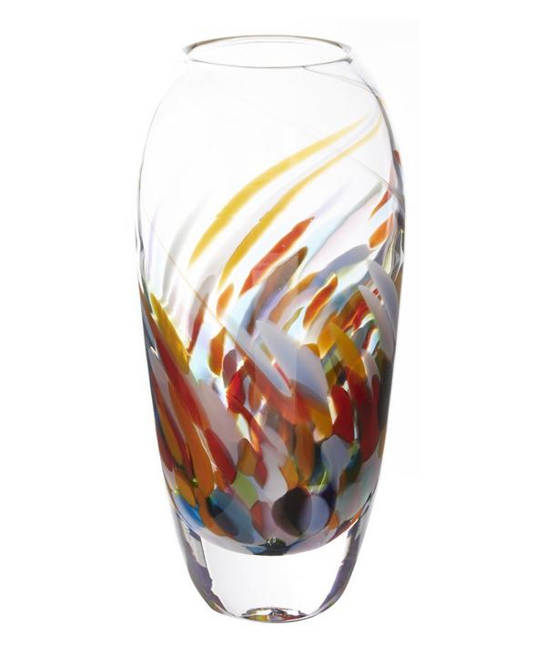 Large Festival Tulip Glass