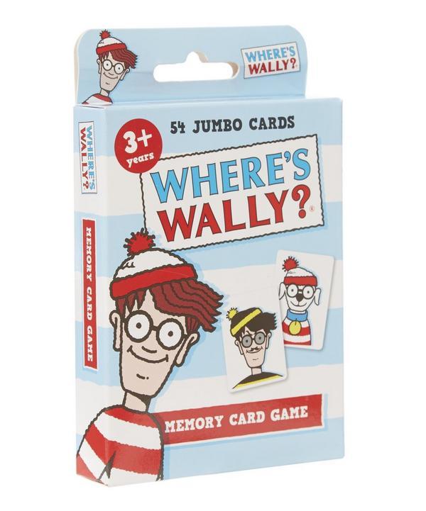 Where's Wally Memory Card Game
