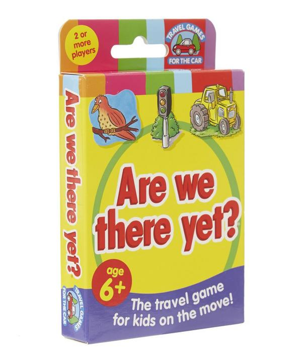 Are We There Yet? Game