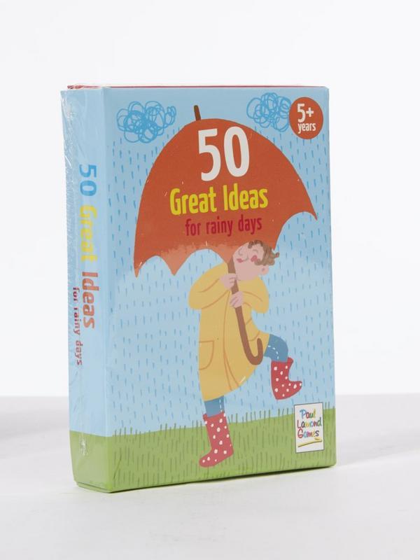 50 Great Ideas for Rainy Days