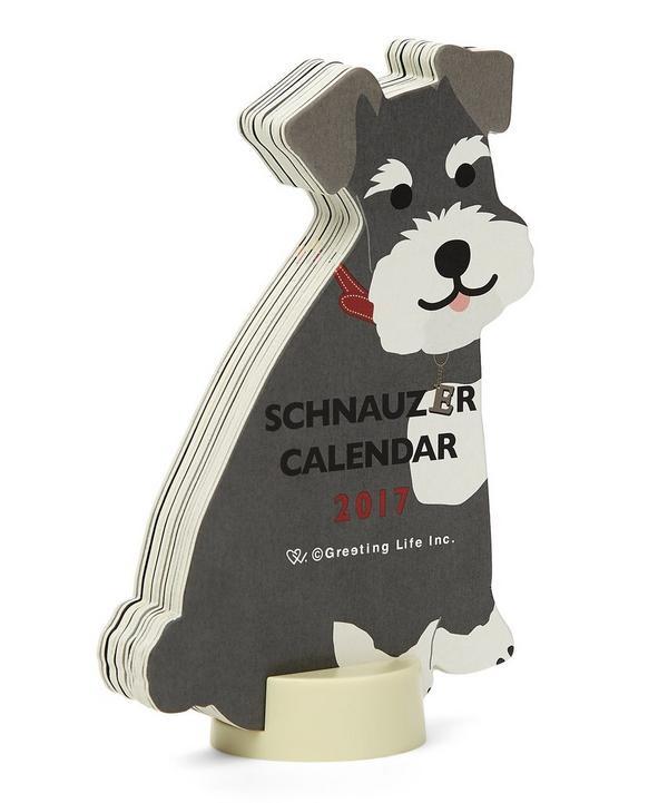 Schnauzer 2017 Standing Calendar