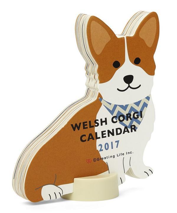Welsh Corgi 2017 Standing Calendar