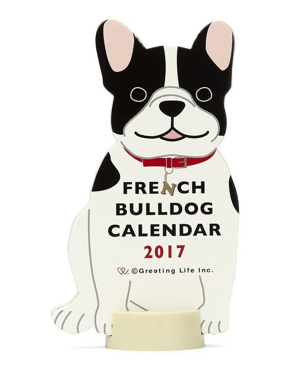 French Bulldog 2017 Standing Calendar