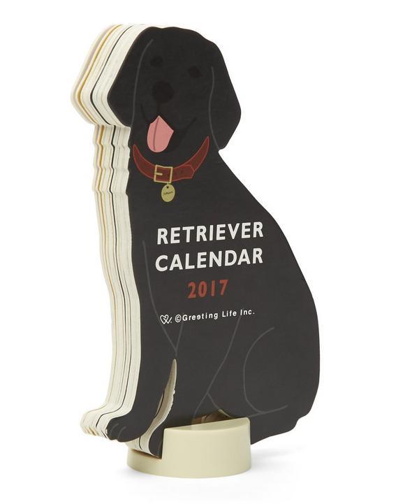 Retriever 2017 Standing Calendar
