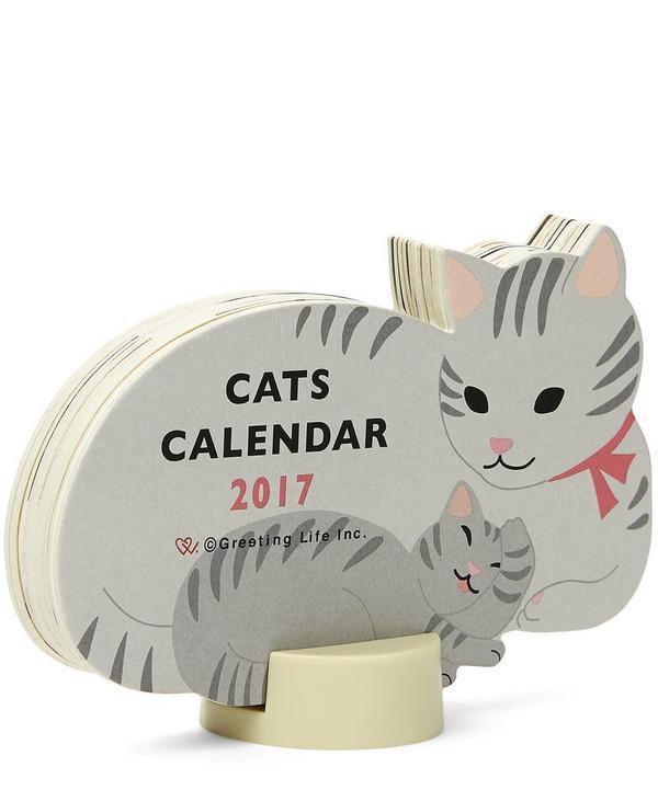 Cats 2017 Standing Calendar