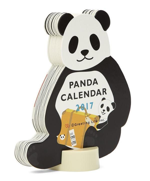 Panda 2017 Standing Calendar