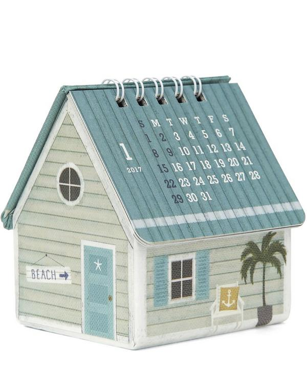 Beach House 2017 Three Dimensional Calendar
