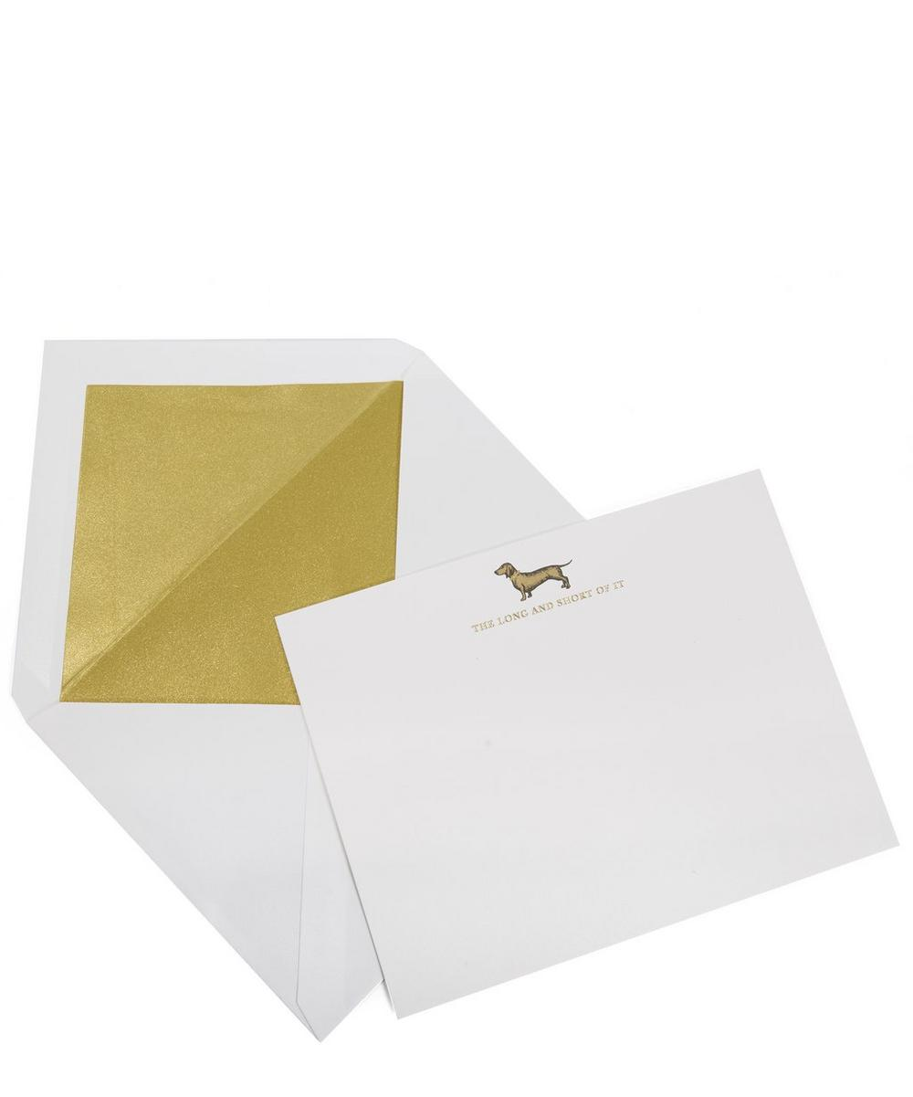 The Long And Short Of It Correspondence Cards