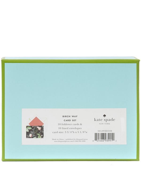 Kate Spade Bird Foldover Cards