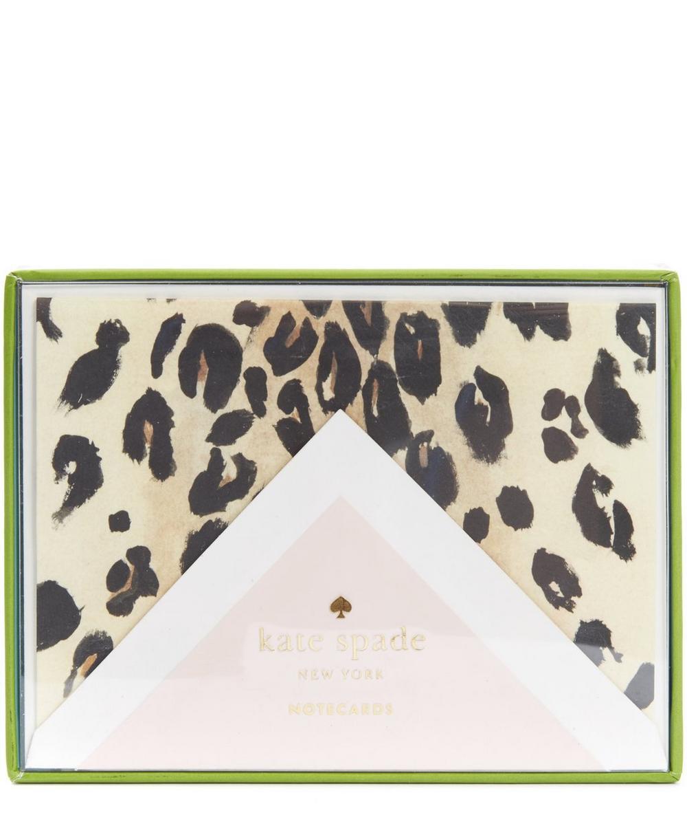 Leopard Print Note Card Set