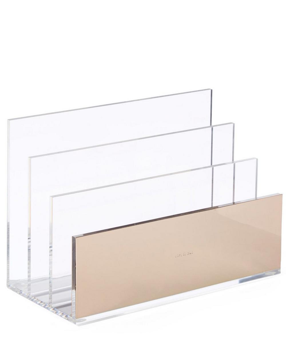 Acrylic File Organiser