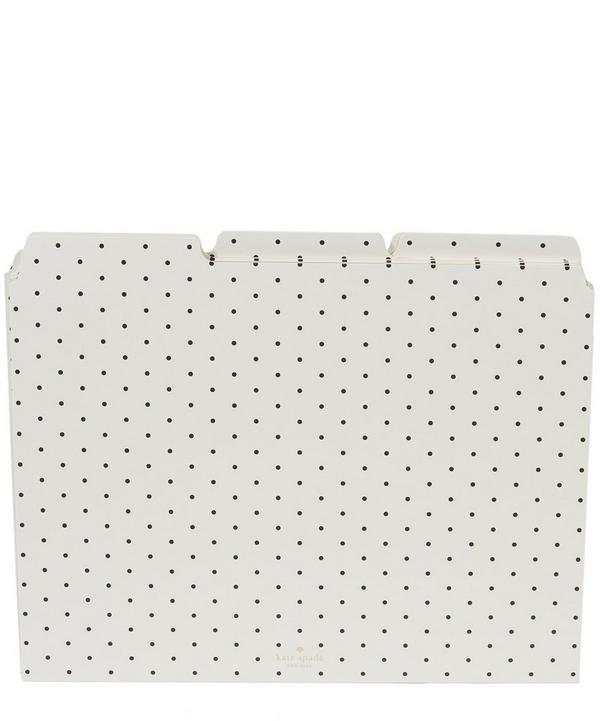 Bikini Dot File Folder Set