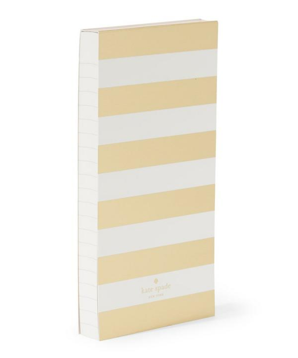 Large Stripe Notepad