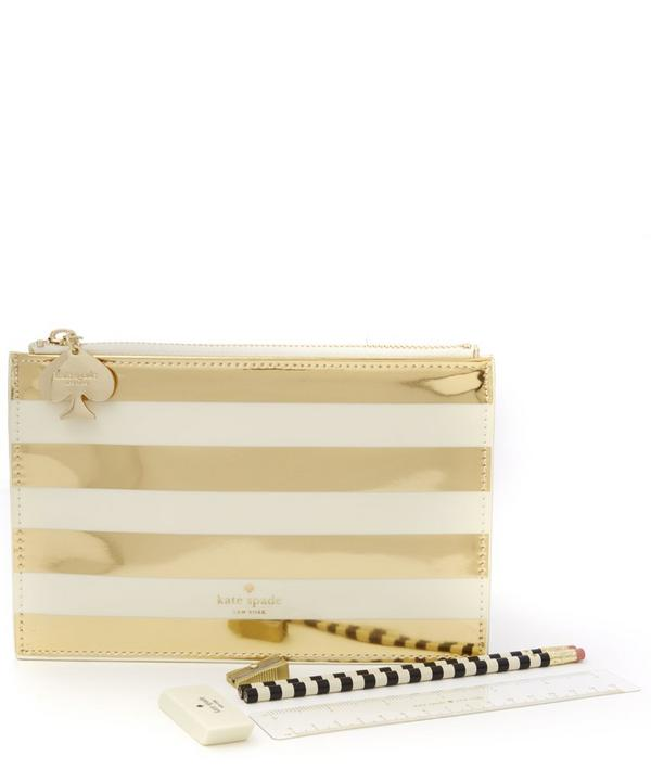 Stripe Pencil Pouch