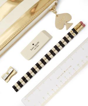 Stripe Pencil Pouch