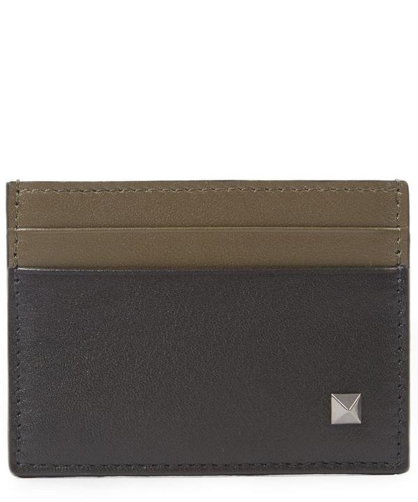 Bi Colour Stud Card Holder