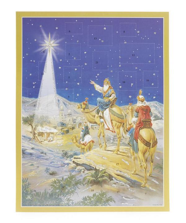 Three Wise Men Advent Calendar