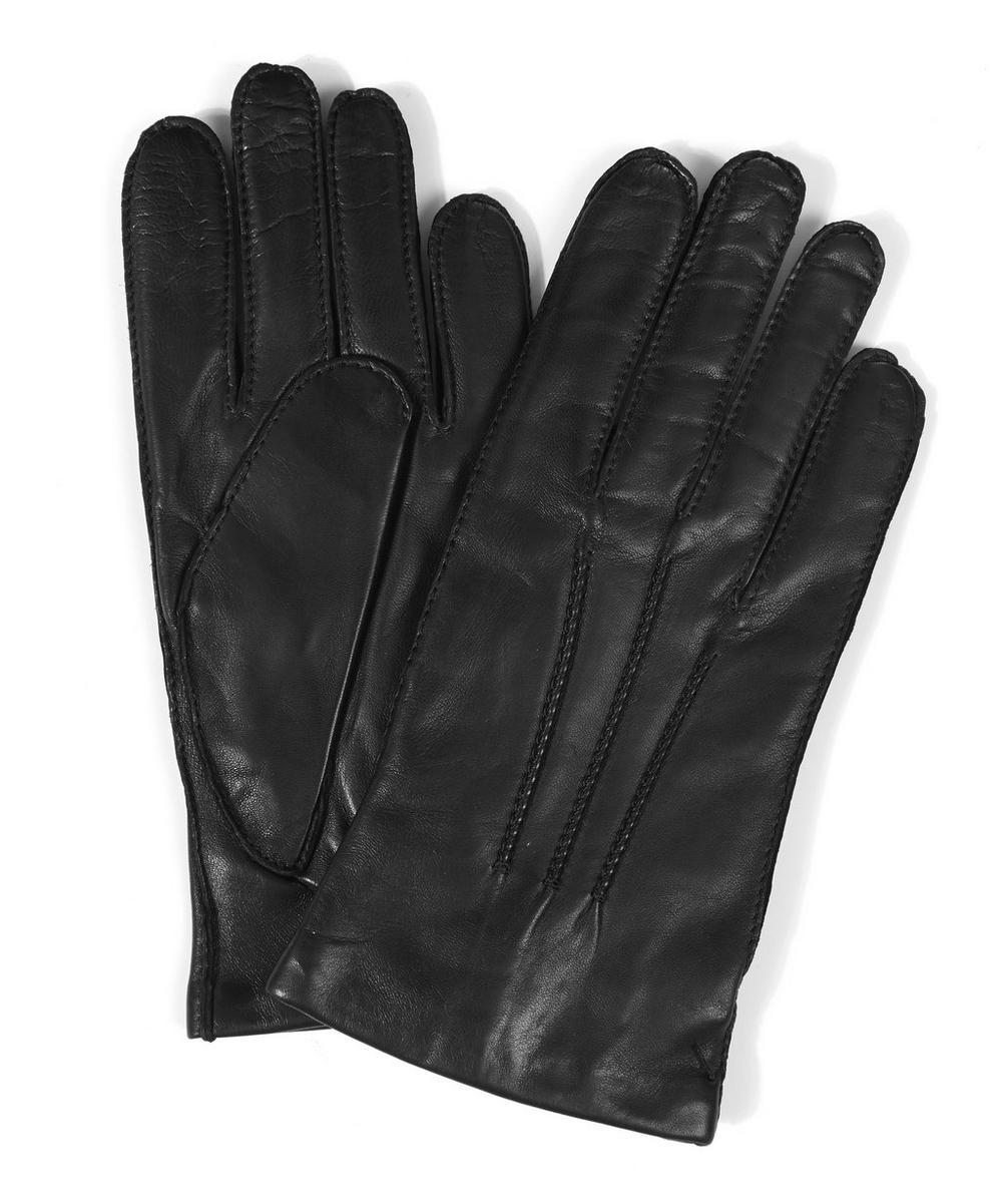 Plain Leather Gloves