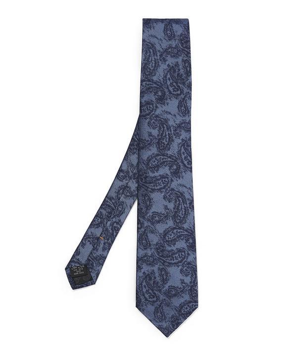Demi Paisley Printed Tie