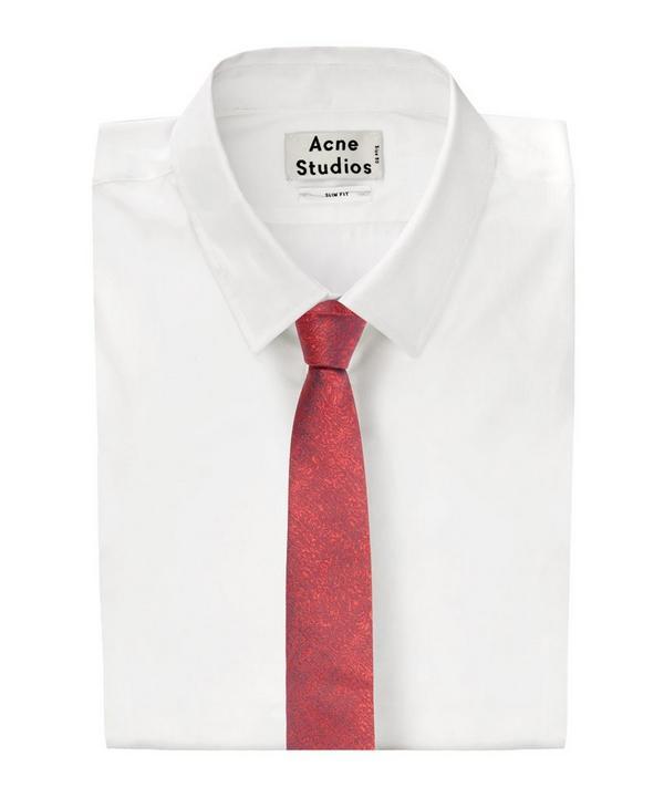 Scream Patterned Tie