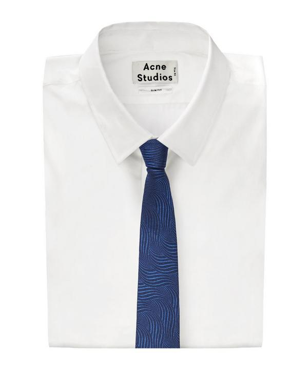 Wheatsheaf Curved Line Patterned Tie