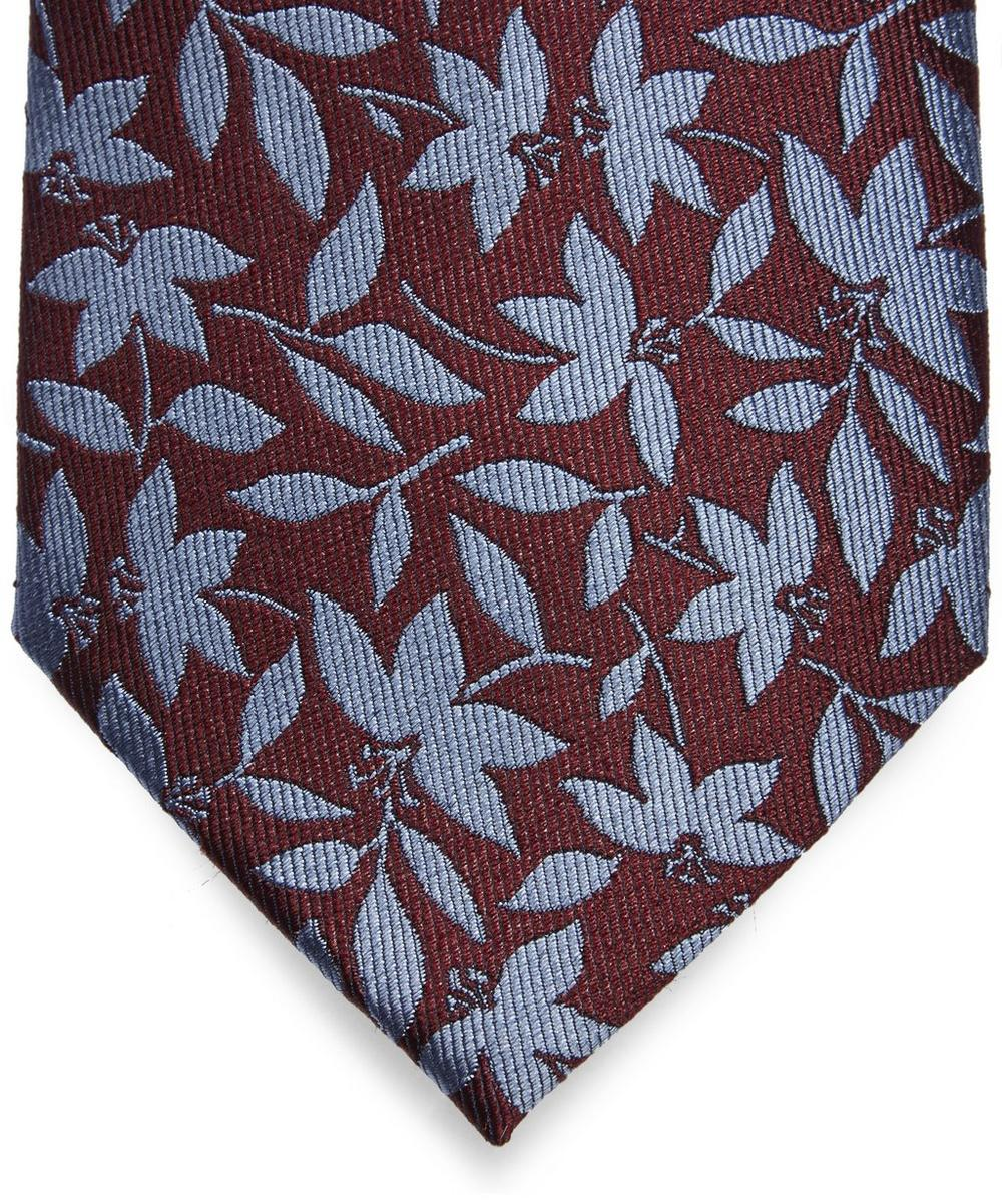 Autumn Leaf Patterned Tie