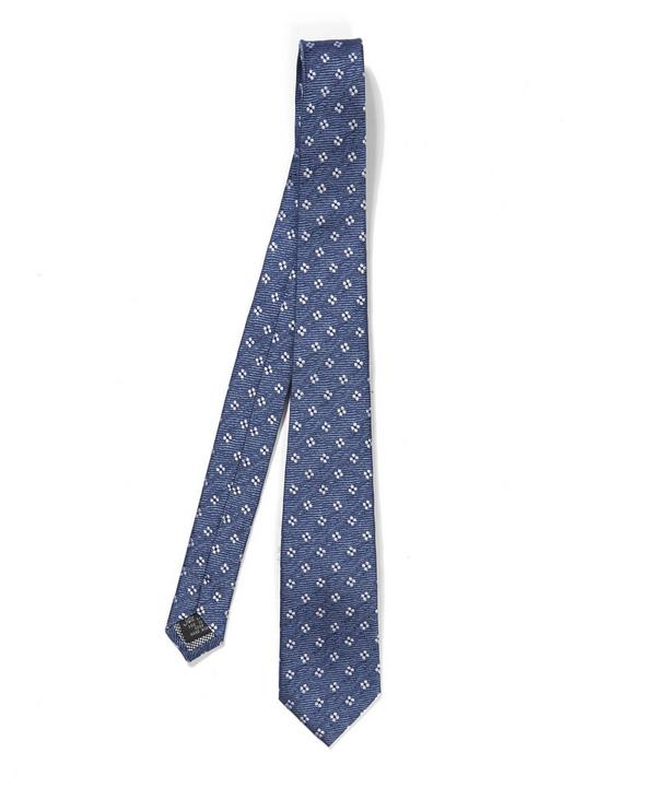Ditsy Flower Patterned Tie