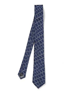 Croc Skin Patterned Tie