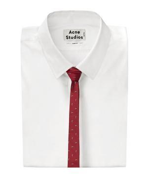 Shark Patterned Tie