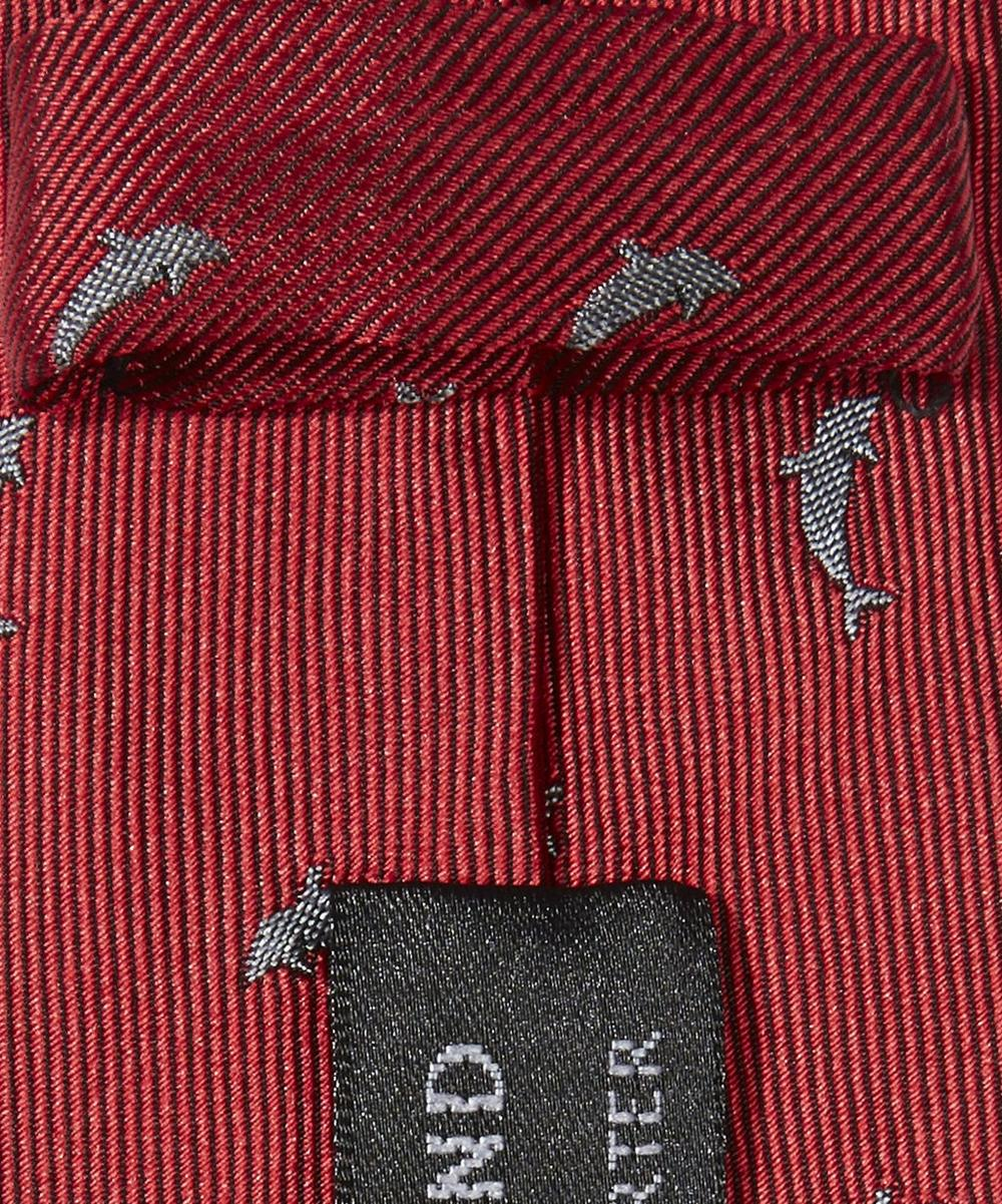 Shark Patterned Tie