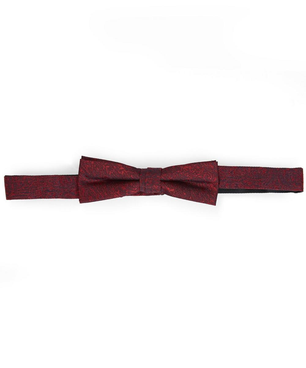 Scream Patterned Bow Tie