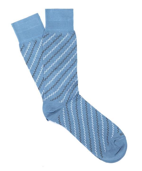 Step It Up Mini Zig Zag Sock