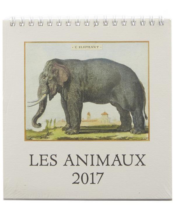 Les Animaux 2017 Desk Calendar