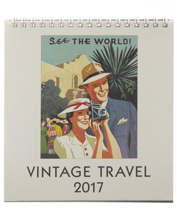 Travel 2017 Desk Calendar
