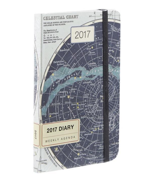 Celestial 2017 Weekly Planner