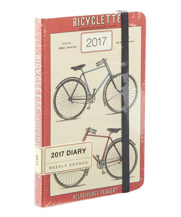 Bicyclette 2017 Weekly Planner