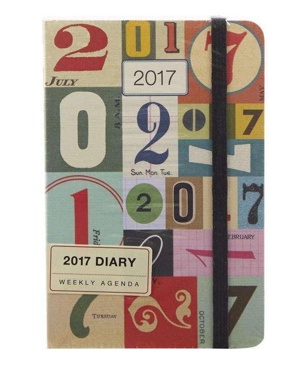 Numbers 2017 Weekly Planner