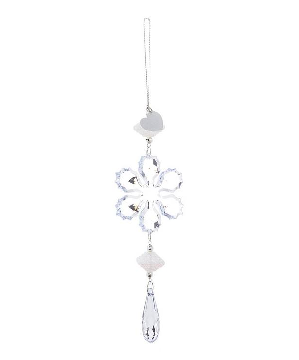 Snowflake Dangle Ornament Bauble