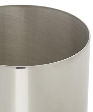 Large Groove Pewter Vase