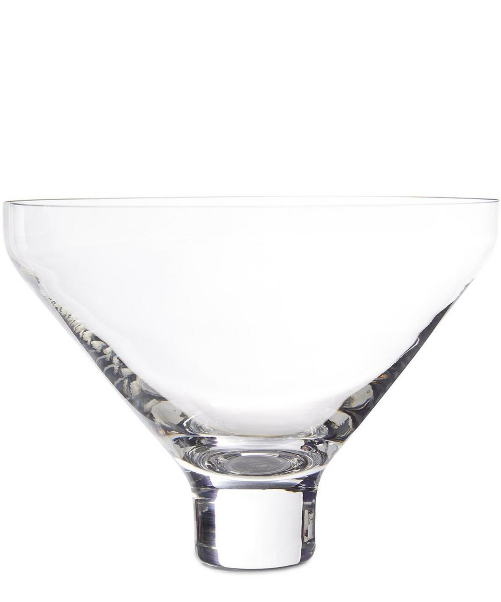 Sheer Crystal Conical Bowl