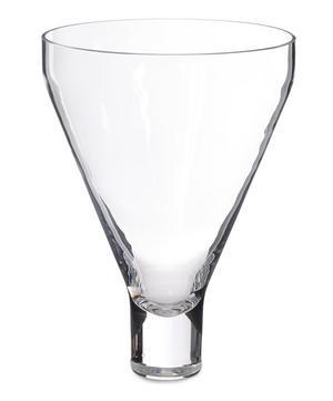 Sheer Crystal Conical Vase