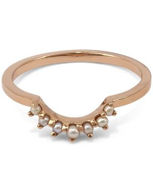 Rose Gold Tiara Curve Ring