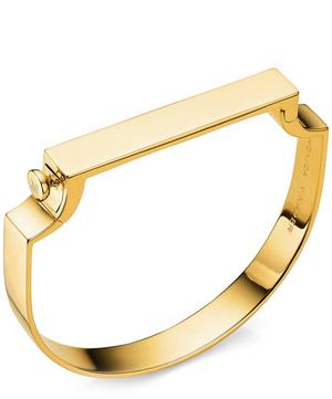 Gold-Plated Signature Bangle