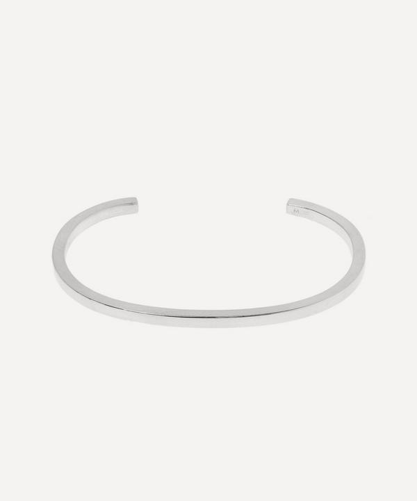 Silver 3mm Flat Bracelet