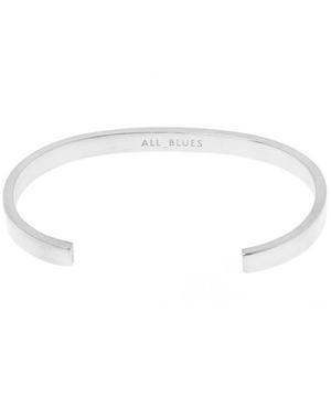Silver 5mm Flat Bracelet