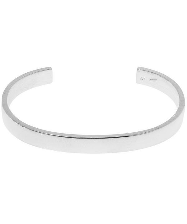 Silver 7mm Flat Bracelet