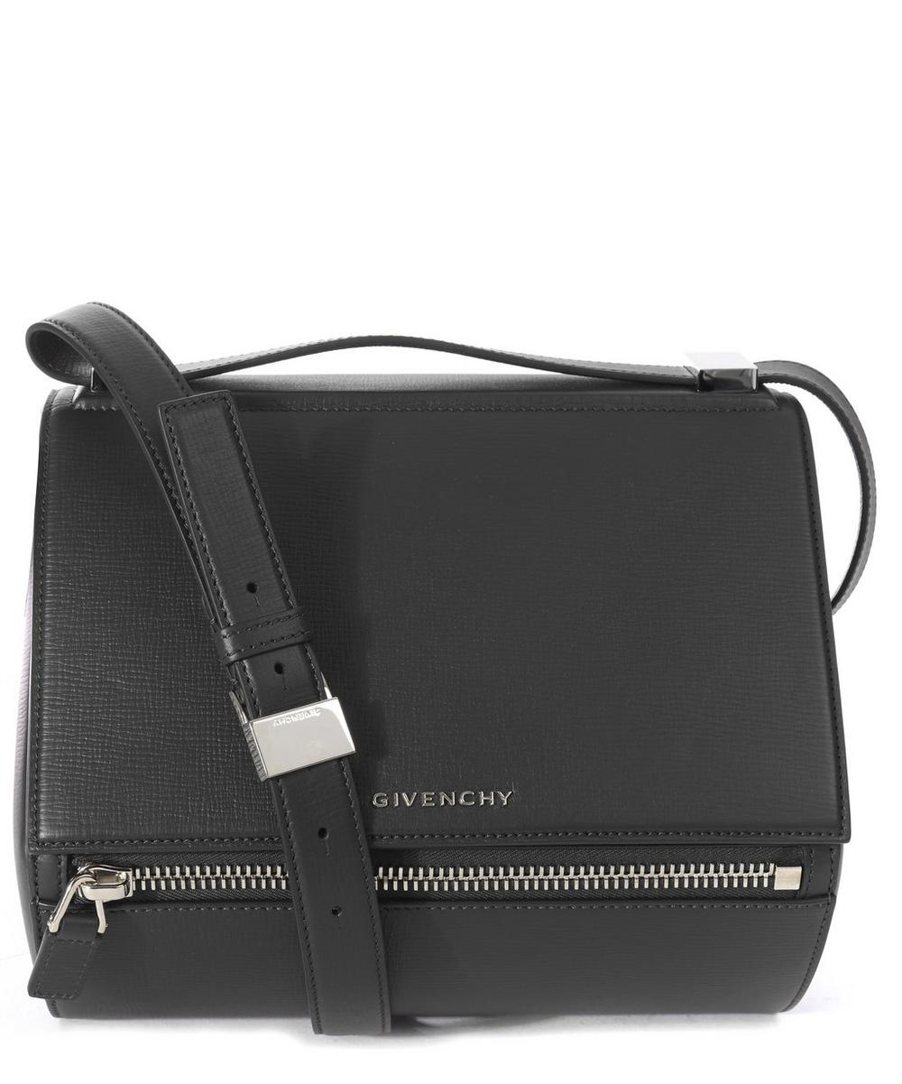 Medium Leather Pandora Box Shoulder Bag