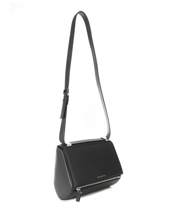 Medium Leather Pandora Box Shoulder Bag